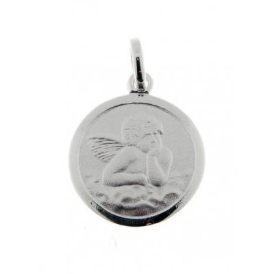 Médaille Argent Ange (15mm)