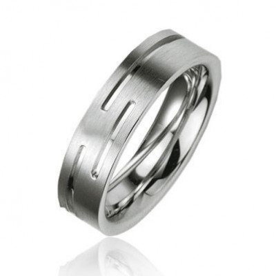 Alliance Argent Platiné 5.5mm