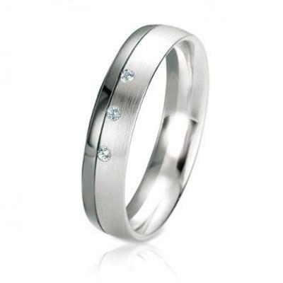 Alliance Or Diamant Black & White 4.5mm