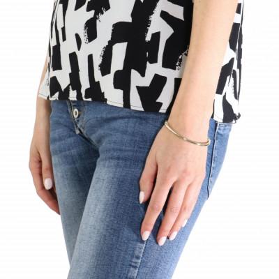 Bracelet jonc or jaune 375 fil rond 3mm ref 39035 - Bijoux 3 fois sans frais ...