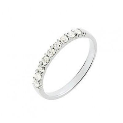 Demi Alliance Diamant serti griffes 0.30 carat