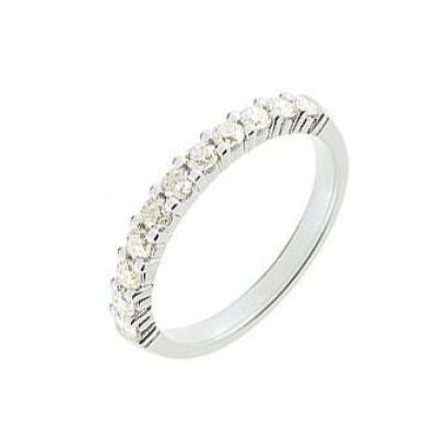 Demi Alliance Diamant serti griffes 0.50 carat