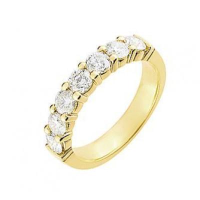 Demi Alliance Diamant serti griffes 1.50 carat