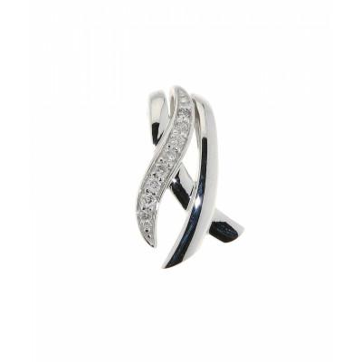 Pendentif Diamant Or Blanc 0.05 carat