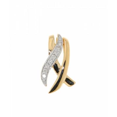 Pendentif Diamant Or Jaune 0.056 carat