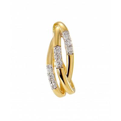 Pendentif Or Jaune 750 Diamant