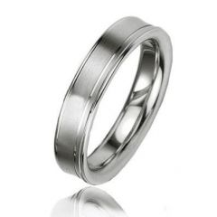 Alliance Argent Platiné 4.5mm