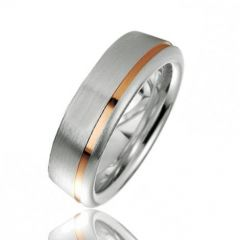 Alliance Argent Platiné 6.5mm