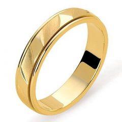 Alliance Diamantée Or jaune - 4.5mm