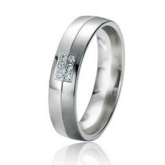 Alliance Or Diamant Black & White 5mm