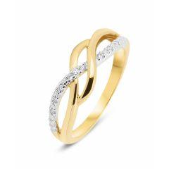 Bague 2Ors  Diamant (0.041ct)