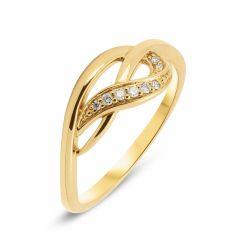 Bague Diamant Or Jaune (0.05ct)