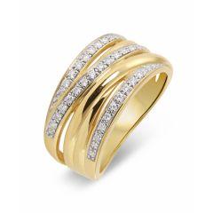 Bague Or 750 Diamant