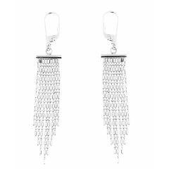 c811309ae043 Boucles d oreilles pendantes argent chainettes
