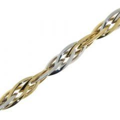 Bracelet 2 Ors Maille Fantaisie