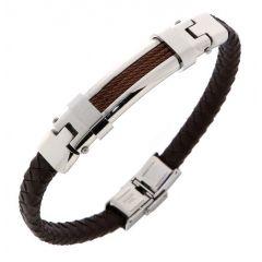 Bracelet Acier 12,8mm x 21,5cm