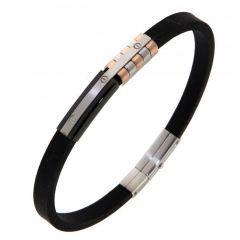 Bracelet Acier 6,3mm x 21,5cm
