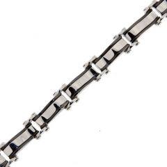 Bracelet Acier 6,8mm x 22cm
