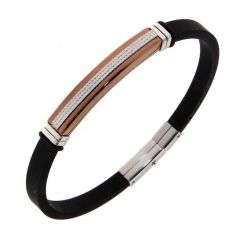 Bracelet Acier 7,1mm x 21,5cm