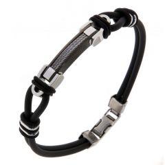 Bracelet Acier 7,7mm x 23cm