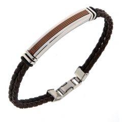 Bracelet Acier 7,8mm x 21cm
