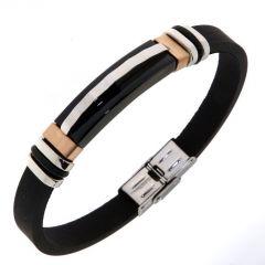 Bracelet Acier 9,7mm x 21,5cm