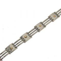 Bracelet Acier Homme 11mm x 20cm