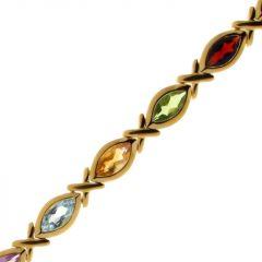 Bracelet Vermeil pierres fines