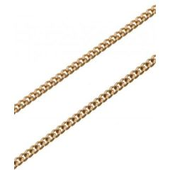 Chaine Or 750 Maille Gourmette 1.6mm- 45cm