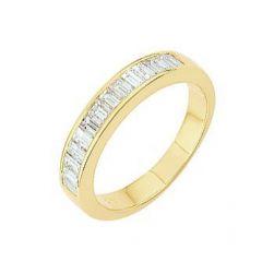 Demi Alliance Diamant Baguette 0.75 carat