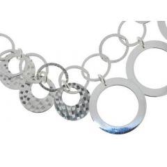 Gros Bracelet Argent et Breloques