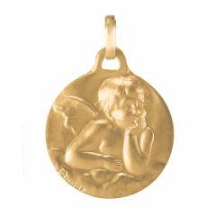 Médaille Cherubin en Or Jaune 750 (17mm)