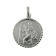 Médaille Saint Christophe Argent (16mm)
