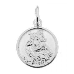 Médaille Saint Chritophe en Argent (12mm)