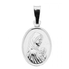 Médaille Vierge à l'enfant Argent