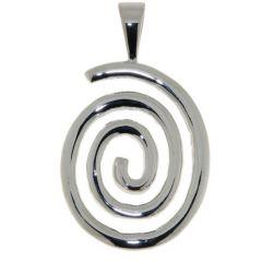 Pendentif Argent Spirale