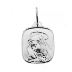 Pendentif  Vierge en Argent