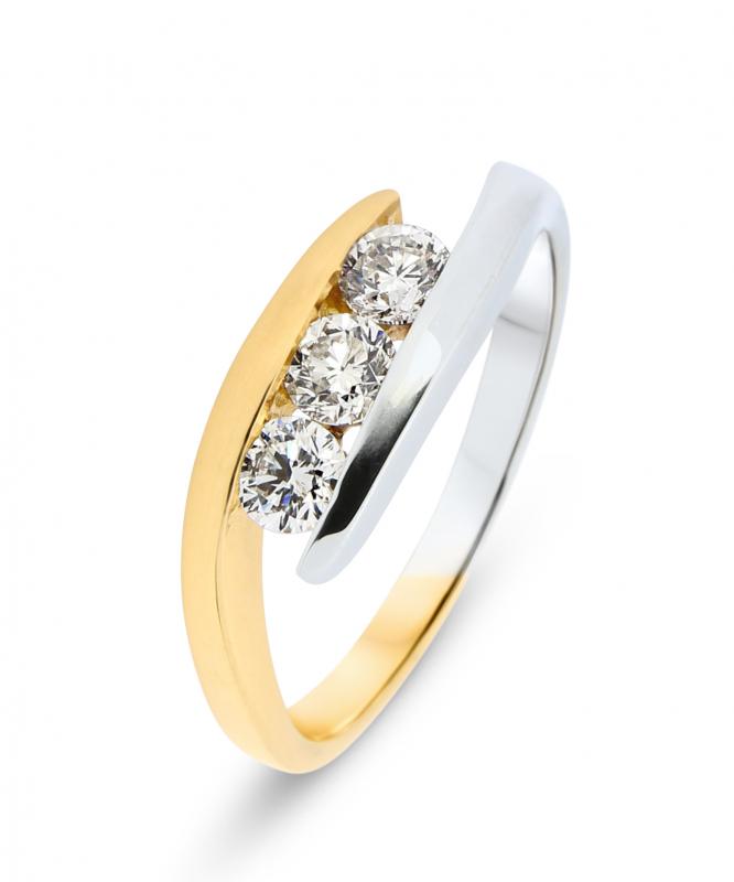 bague diamant 2 ct