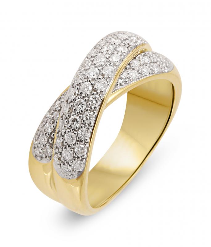 bague diamant anneau
