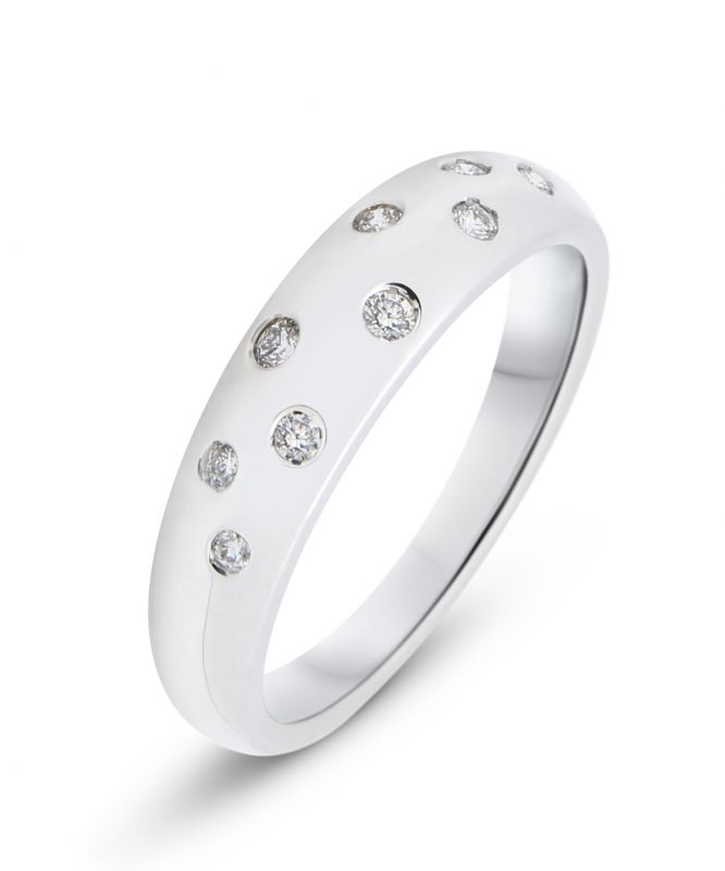 jonc bague diamant
