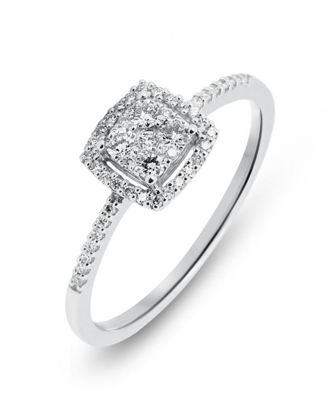 bague diamant original