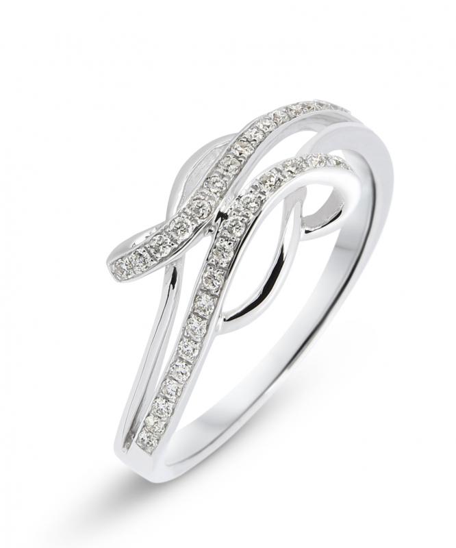 bague diamant serti