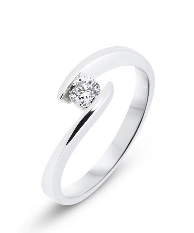 bague or blanc diamant promotion