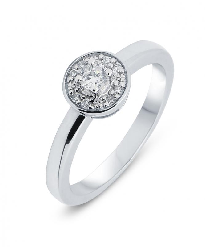 f5949133b4080 Bague Or Blanc Diamant Ref. 28698