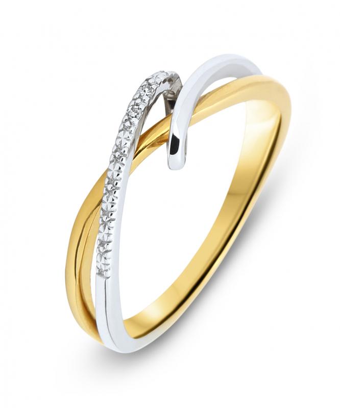bague en or diamant