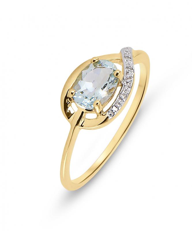 bague en or femme diamant