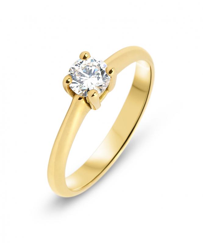 4a27b9f0799 Bague Or jaune Diamant 0