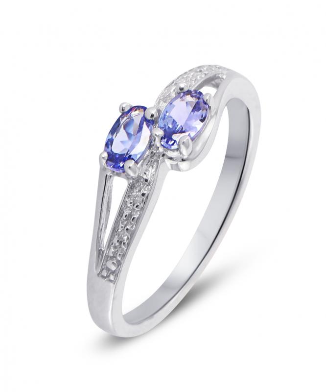 toi et moi bague diamant