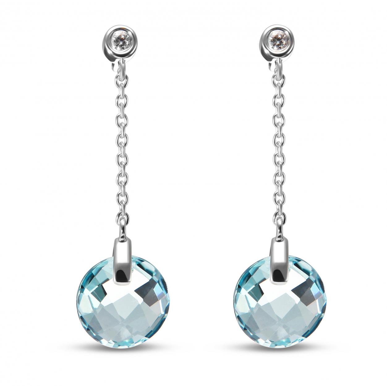 6x4mm Opale /& Diamant Ovale Boucles D/'Oreilles Clou Or Blanc Argent