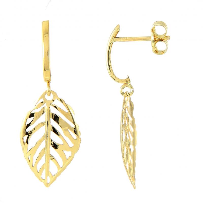 boucle d'oreille femme or pendante